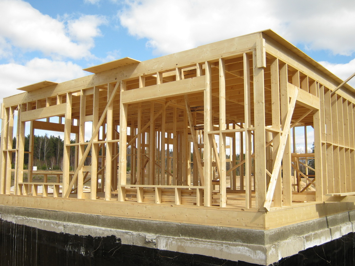 Как построить дом своими руками проект фото
