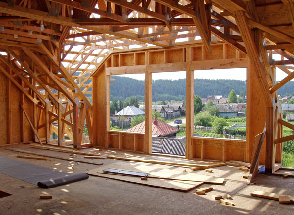 Каркасная технология строительства позволяет быстро и недорого построить летнюю кухню
