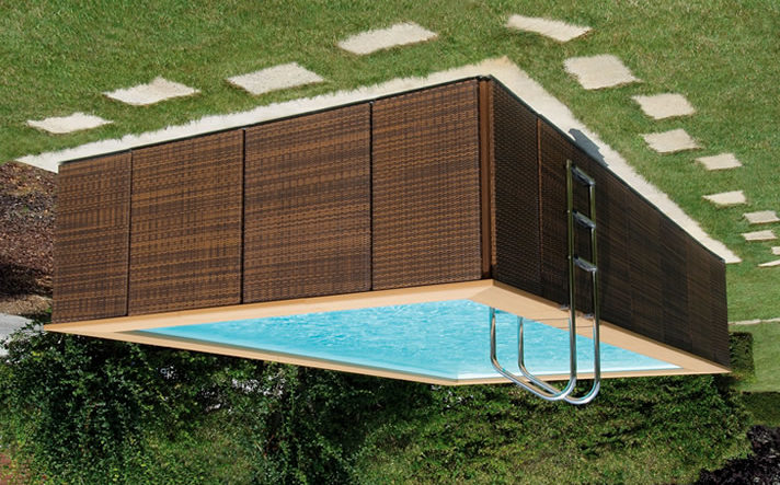 Каркасный стационарный бассейн