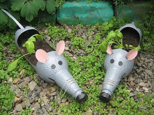 Клумбы-крысята