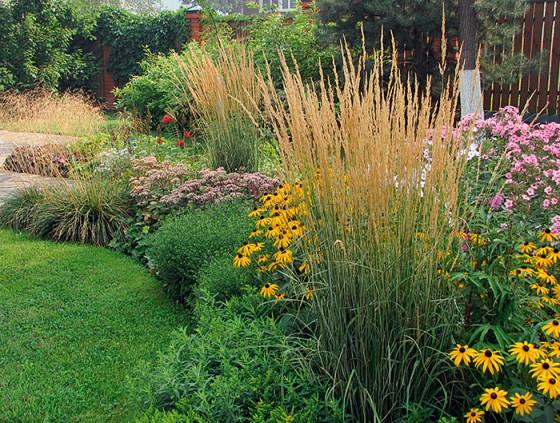 Красивый сад – место, откуда не хочется уходить