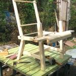 Кресло для дачи своими руками