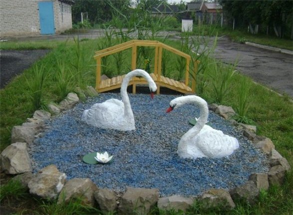 Садовые скульптуры своими руками фото фото 943