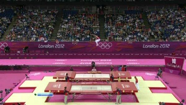 Летние Олимпийские Игры в Лондоне. Прыжки на батуте.