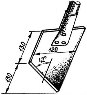 Лопата для удаления прикорневой поросли