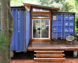 Любительское фото простейшего строения на основе контейнеров