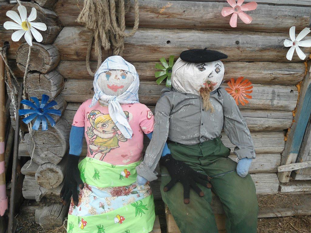 Садов куклы своими руками