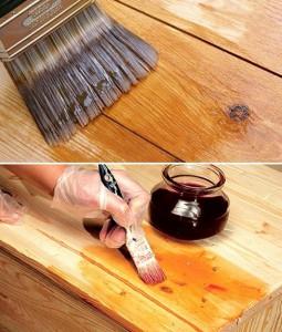 Мебель нужно покрыть лаком