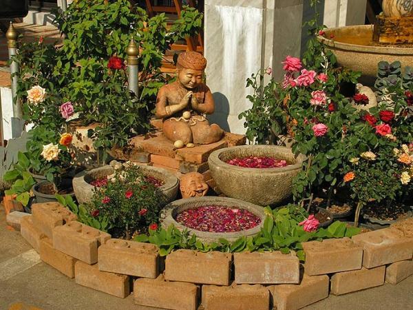 Мини прудик для загородного дома