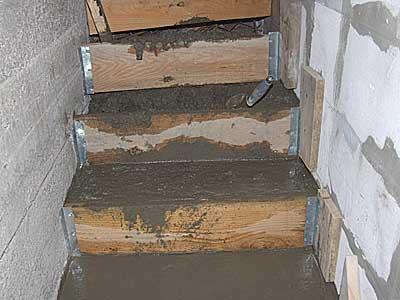 Монтаж лестницы.
