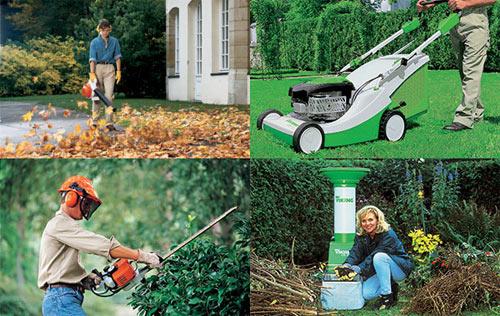Мототехника для сада и огорода в деле