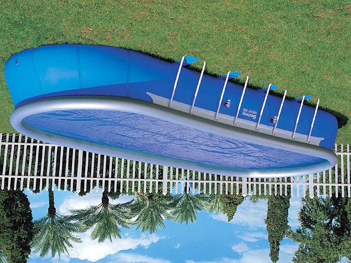 Надувная емкость для плавания
