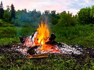 Не стоит разжигать костер - это опасно и не эффективно.