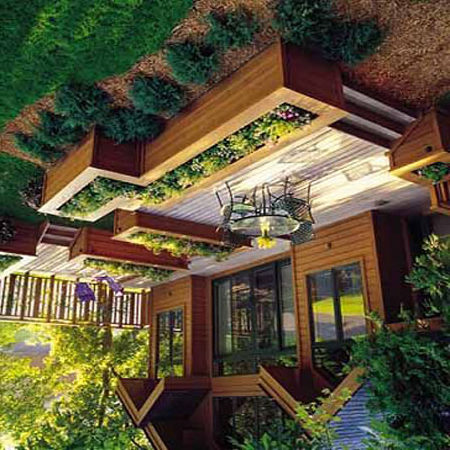Не всегда подобные типы строений обладают крышей, поскольку некоторые владельцы предпочитают проводить время на солнце