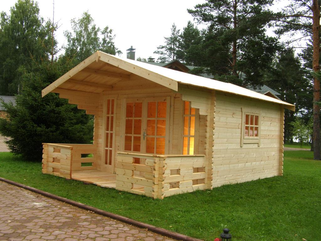 Садовый домик своими руками схема
