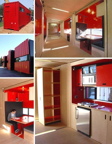 Необходимость экономить и компоновать пространство позволяет искать оригинальные дизайнерские решения для интерьера