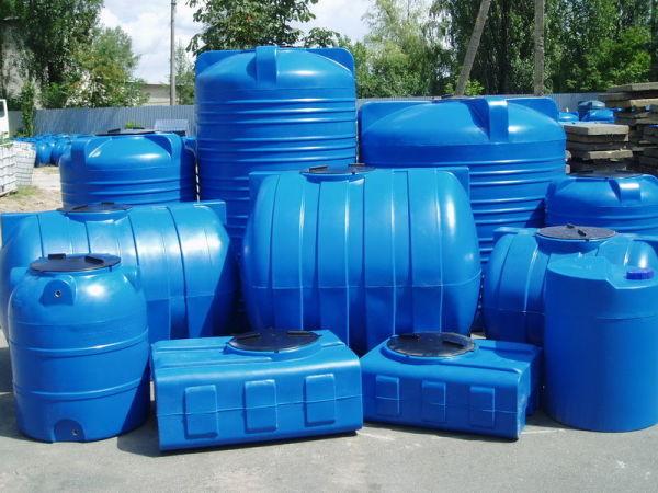 Объем емкостей - от 50 до 15000 литров.
