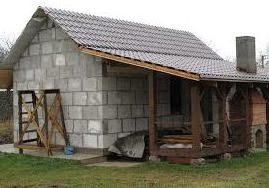 Пенобетон также используют для строительства банных помещений.