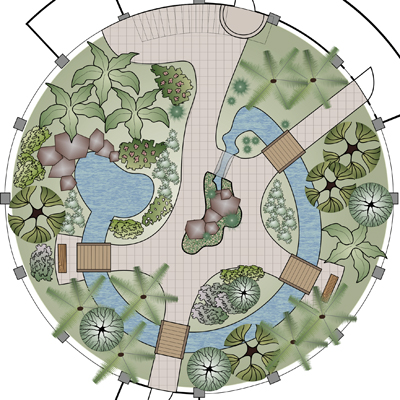 План зимнего сада с системой обогрева