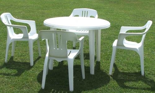 Пластиковая мебель давно перестала быть эксклюзивом