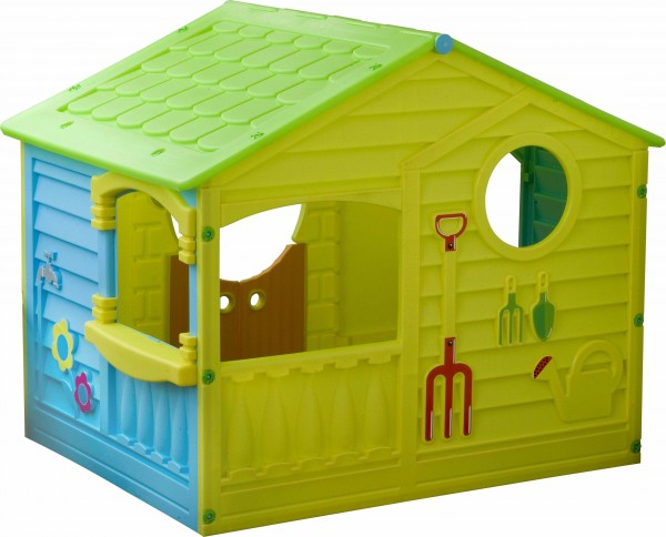 Пластиковый дом для игр