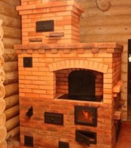 Плита печь для дачи из кирпича
