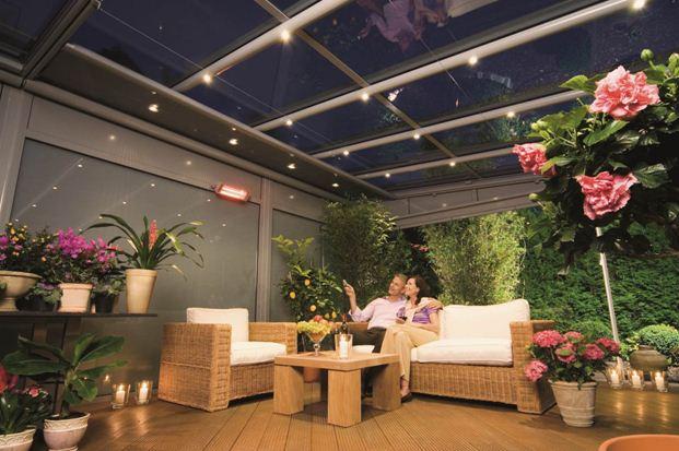 Прежде чем создавать зимний сад на лоджии своими руками, позаботьтесь о качественном освещении