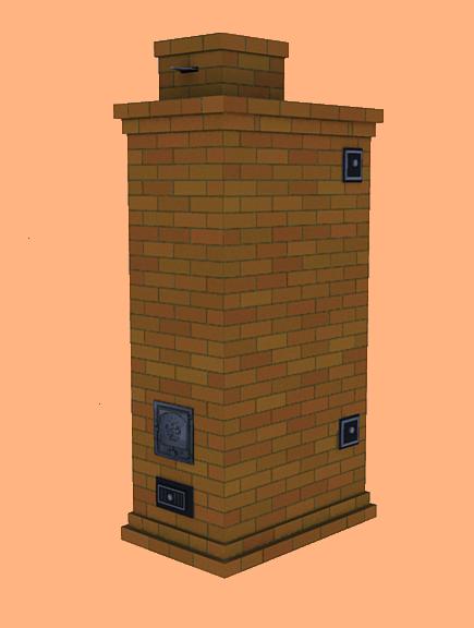 Пример готовой конструкции для обогрева.