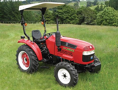 Пример трактора мощностью 13 кВт