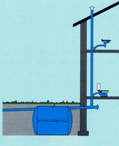Простая и эффективная схема вентиляции.