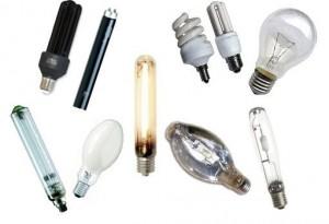 Различные виды источников света