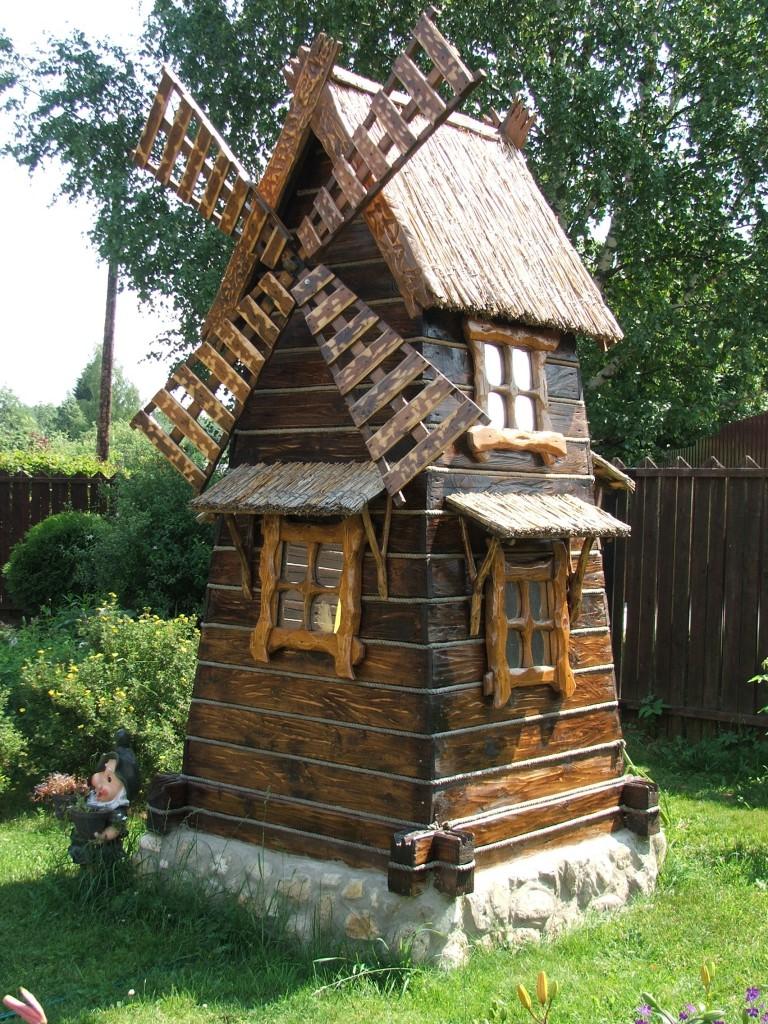 Схема мельницы для сада своими руками фото 429