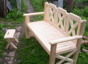 Садовая деревянная мебель своими руками все фото