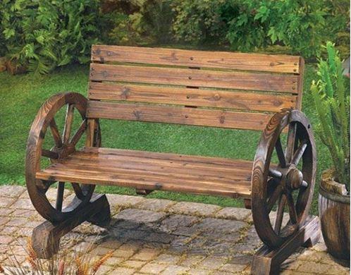 Садовую мебель можно изготовить качественную и оригинальную одновременно