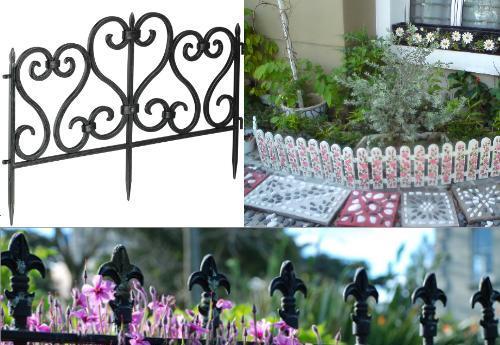 Садовые декоративные ограждения в ассортименте