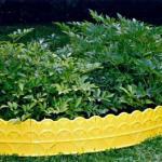 Садовый декоративный бордюр