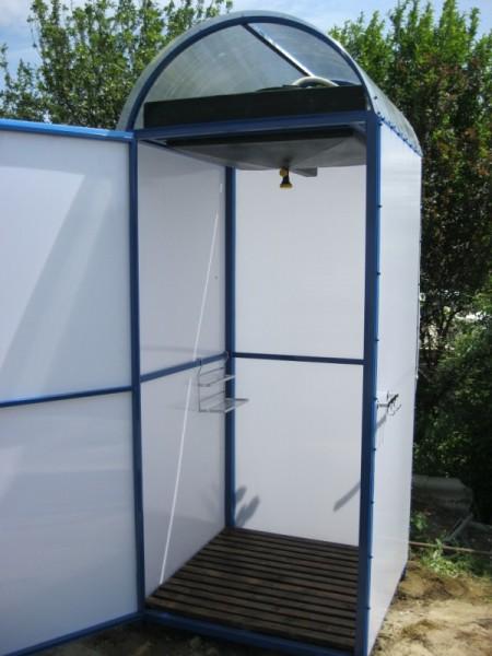 Сборный душ из поликарбоната