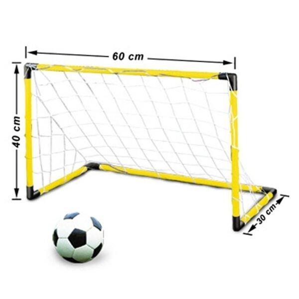 Схема футбольных ворот из ПВХ труб