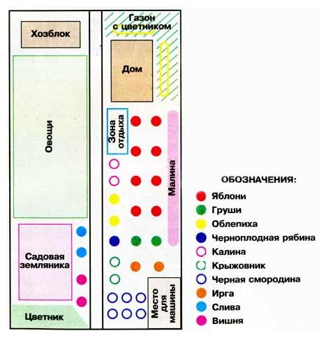 Схема планирования участка