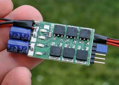Схемы электронных приборов не имеют механических деталей или узлов.
