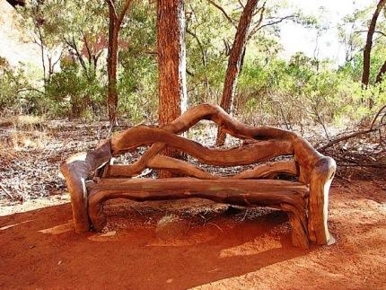 Скамейка, изготовленная своими руками
