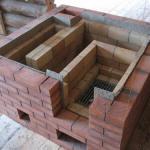 Сооружение печи для бани из кирпича