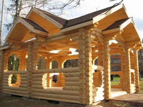 Сооружение в стиле кантри