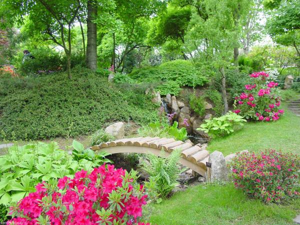Создавая интерьер, с наибольшей выгодой используем как достоинства, так и недостатки сада.