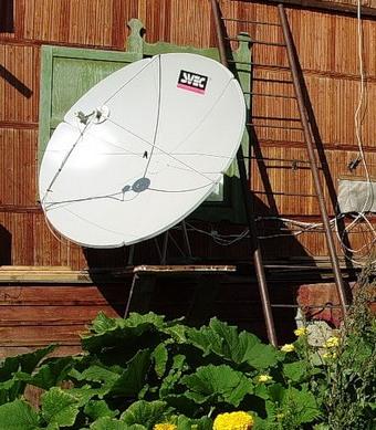 Спутник обеспечивает хороший прием практически везде