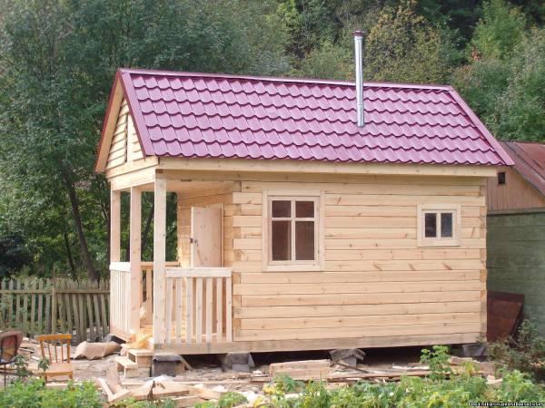 Такие готовые дома для дачи делают в Новосибирске