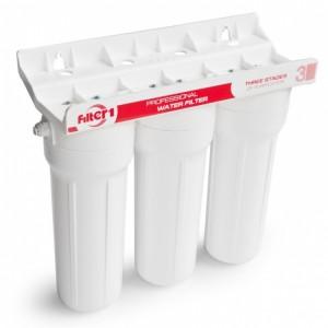 Такие конструкции устанавливаются под мойкой или на вводе водопровода в строение (дачные дома из блок-контейнеров изначально должны иметь предусмотренные точки ввода водопровода, это избавит вас от лишнего труда)