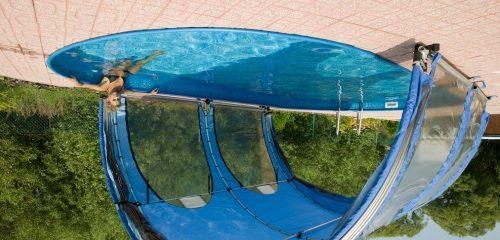 Тенты приобретаются для любого вида водоема