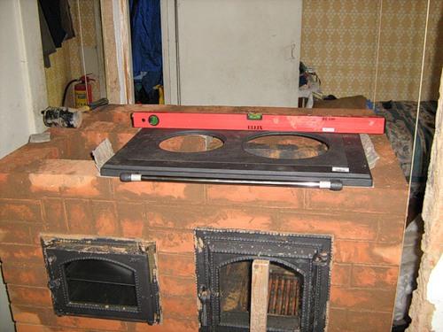 Установка варочной плиты