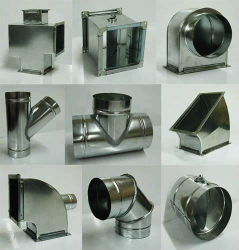 В продаже имеется множество фасонных элементов различных размеров и форм, поэтому проблем с их приобретением не возникнет